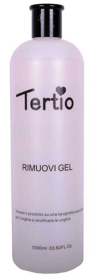 Жидкость для удаления гель-лака Tertio Rimuovi Gel PINK 1000 мл