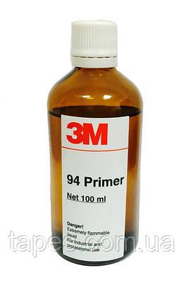 Праймер 3М 94 для автопленок, усиления адгезии лент 3М, прозрачный, 100 мл