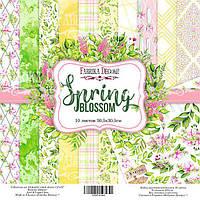 Набор бумаги для скрапбукинга Фабрика декора Spring blossom, 30х30см, фото 1