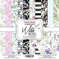 Набор бумаги для скрапбукинга Фабрика декора Wild orchid, 30х30см
