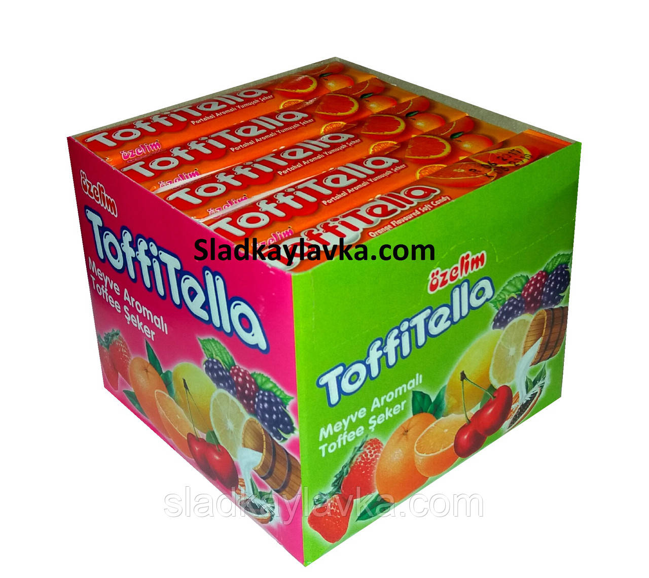 Жевательная конфета Toffitella 20 шт (Ozel), фото 1