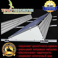 Балластная система креплений солнечных батарей к плоской кровли, фото 1