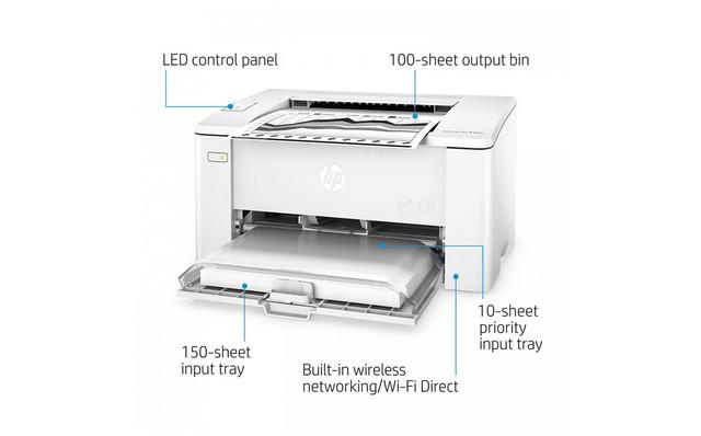 Принтер HP LaserJet M102w (G3Q35A)