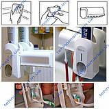 Автоматичний дозатор зубної пасти Touch Me і тримач для щіток, фото 2