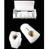 Автоматичний дозатор зубної пасти Touch Me і тримач для щіток, фото 3
