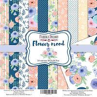 Набор бумаги для скрапбукинга Фабрика декора Flower mood, 30х30см