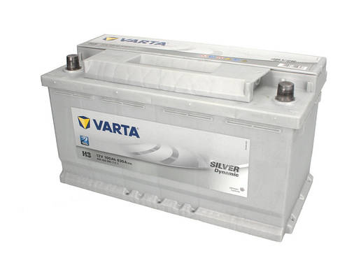 Аккумулятор VARTA SD 100Ah EN830 R+ (H3), фото 2