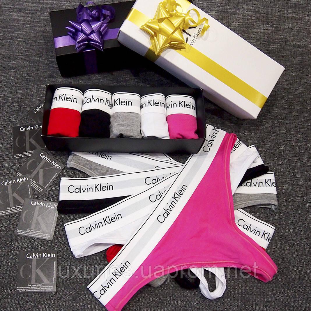 698d4836ca36 Набор женских стрингов Calvin Klein 365: продажа, цена в Киеве. трусики  женские от ...