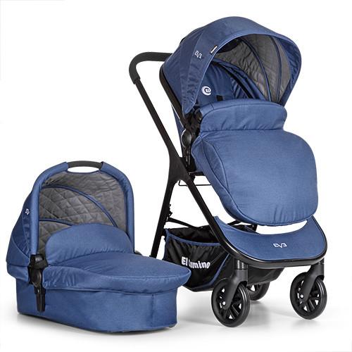 Детская универсальная коляска+люлька El Camino ME 1014-4 EVE