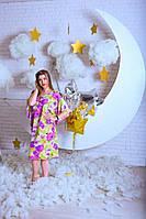 Шелковое платье кимоно для женщин, фото 1