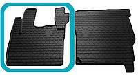 Резиновый водительский коврик в салон DAF CF 2000- (STINGRAY)