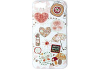 Чехол Avatti Mela Pattern 3D Thin TPU, для iPhone 7