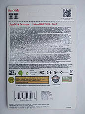 Карта памяти SanDisk Extreme Pro 32 Gb microSDHC UHS-I Card плюс adapter, фото 3