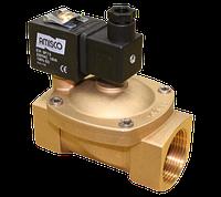 Клапан электромагнитный 1901-KBNH010-400 1 1/2 дюйма (с катушкой и разъемом) для воды, воздуха, пара Gevax, фото 1