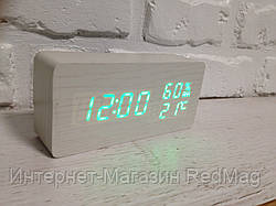 Часы настольные деревянные электронные VST-862S