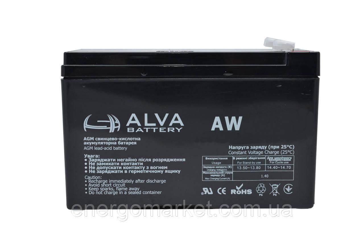Аккумуляторная батарея ALVA AW6-5