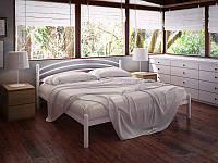 Маранта кровать металлическая160*200 белый