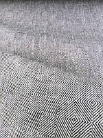 Льняная плотная скатертная ткань (шир. 150 см)