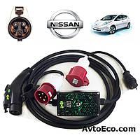 Зарядное устройство для электромобиля Nissan Leaf AutoEco J1772-32A-BOX