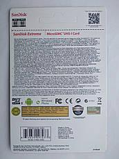 Карта памяти SanDisk Extreme Pro 16 Gb microSDHC UHS-I Card плюс adapter, фото 3