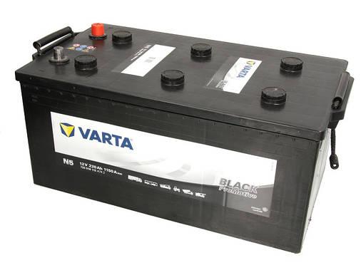 Аккумулятор VARTA PM Black 220Ah EN1150 L+ (N5), фото 2