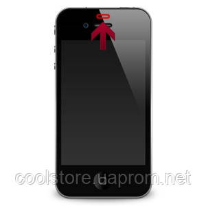 Замена шлейфа датчика приближения iPhone 4