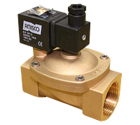 Клапан электромагнитный 1901-KBNI010-500 2 дюйма (с катушкой и разъемом) для воды, воздуха, пара GEVAX