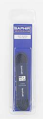 Шнурки для обуви Saphir арт.242, 75 см, плоские, цв. тёмно-синий (06)