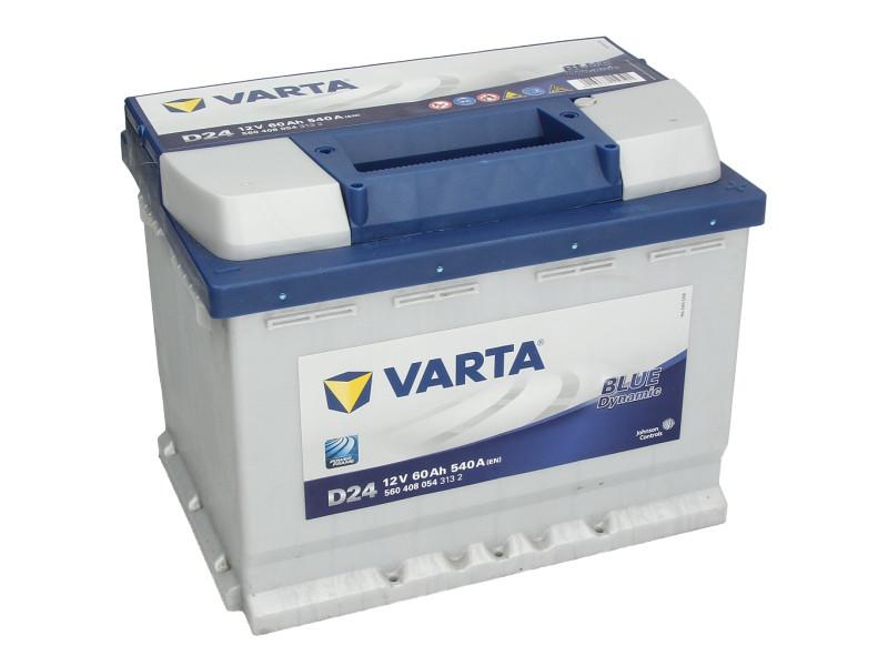 Аккумулятор VARTA BD 60Ah EN540 R+ (D24)