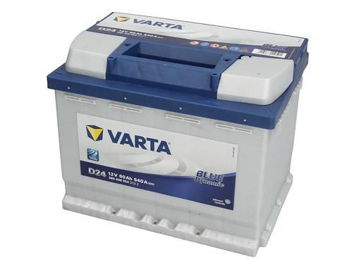 Аккумулятор VARTA BD 60Ah EN540 R+ (D24), фото 2