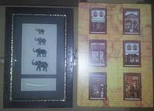 """Ключница настенная деревянная """"Слоны семейство"""", 60029 A, фото 3"""