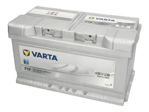 Аккумулятор VARTA SD 85Ah EN800 R+ (F18), фото 2