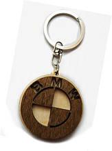 Авто-брелок дерев'яний BMW