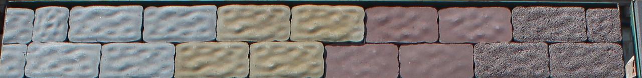 Тротуарная плитка Римский камень стенд 12-13