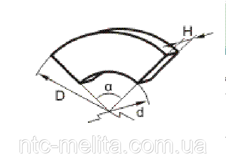 Накладка тормозная секторная УД3357 (730х610х8х72)