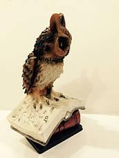 Сова на книге статуэтка, фото 3