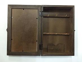 """Ключница  настенная, деревянная - """" Венеция """", фото 2"""
