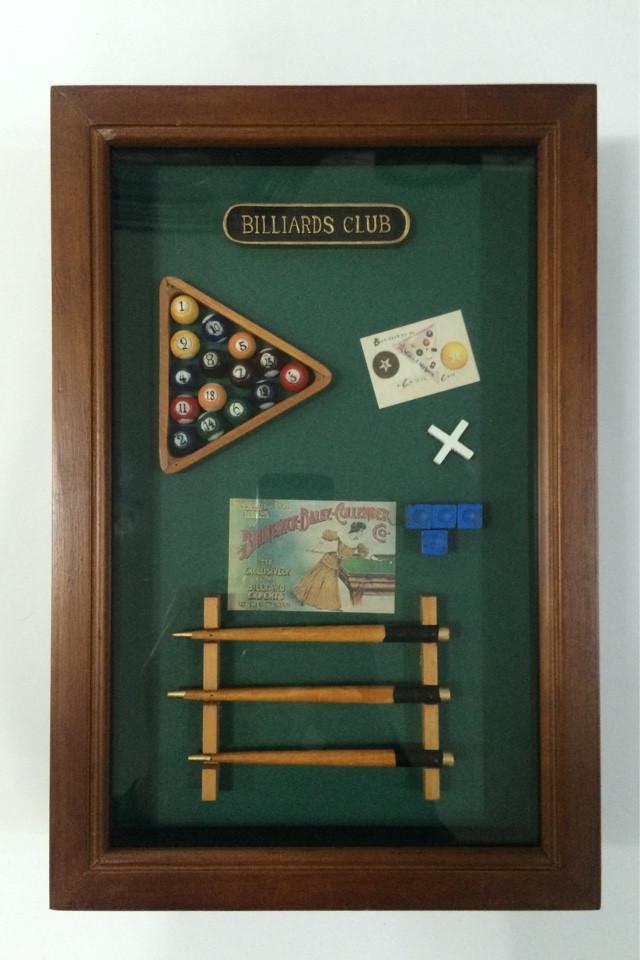 """Ключница  настенная, деревянная -"""" Бильярд """", 21039 B"""