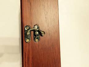"""Ключница  настенная, деревянная - """" Часы  """", фото 2"""