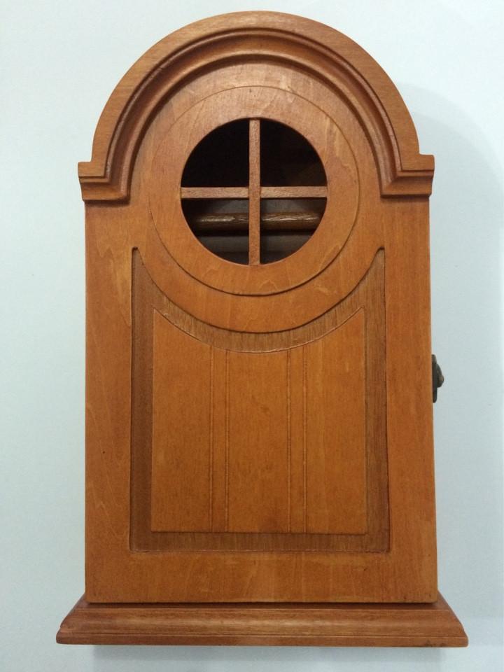 Ключница  настенная, деревянная