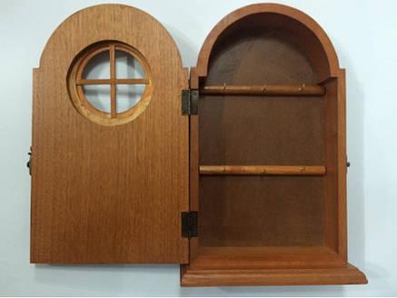 Ключница  настенная, деревянная, фото 2