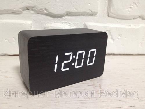 Часы настольные деревянные электронные VST-863