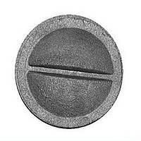 """Конфорка чугунная """"Искра"""" для печной плиты (диаметр кольца - 90 мм)"""