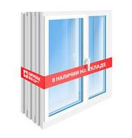 Готовые металлопластиковые ПВХ окна и двери 3 и 5 камерные