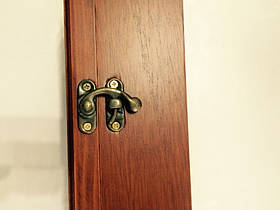 """Ключница  настенная, деревянная - """" Занавеска """", фото 2"""