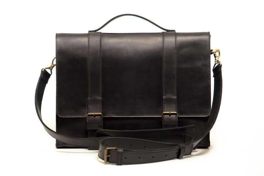 Чоловічий діловий портфель Bag Briefcase black