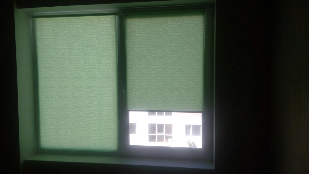 Рулонные шторы Lazur. Тканевые ролеты Лазурь (Ван Гог) 4