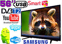 "Телевизор 56"" Samsung SmartTV LED! 4K UltraHD, IPTV, Android, T2, WIFI, USB"
