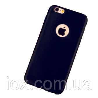 Черный силиконовый чехол для Iphone 6/6s