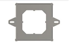 Фланец монтажный для горелки Pellas X Mini 26,35